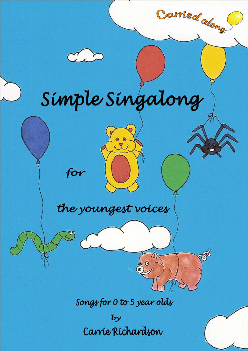 Simple Singlaong by Carrie Richardson of Carried Along Productions